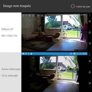 HiKam S5 Indoor WLAN Überwachungskamera
