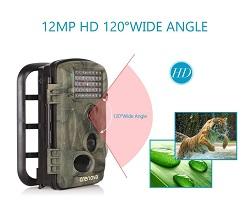Wildkamera als Überwachungskamera