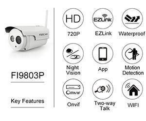 Foscam FI9803P alle Funktionen