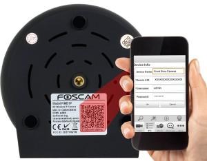 Foscam FI9831P HD IP Kamera QR Code