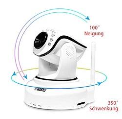 INSTAR IN-6012HD Wlan Kamera Blickwinkel