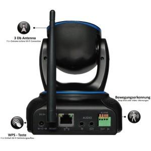 Wansview NCM625GA Überwachungskamera Anschlüsse