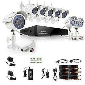 Zmodo Überwachungskamera Set Lieferumfang