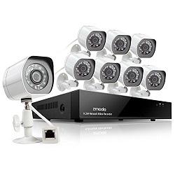 Zmodo Überwachungssystem mit 1 TB HDD
