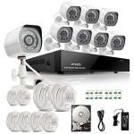 Zmodo HD-Sicherheitskamera-System Lieferumfang
